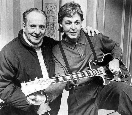 Les Paul designade – Gibson skapade
